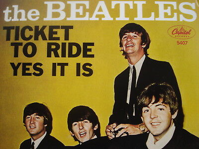 """BEATLES 45 RPM 7"""" - Ticket To Ride RECORD STORE DAY 2011 RSD"""