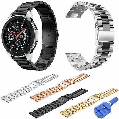 Stainless Steel Band for Samsung Gear S3 /Galaxy Watch 46mm Strap Bracelet Tool