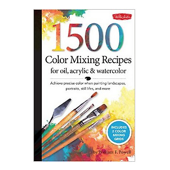 1500 Colour Mixing Recipes for Oil & Acrylic