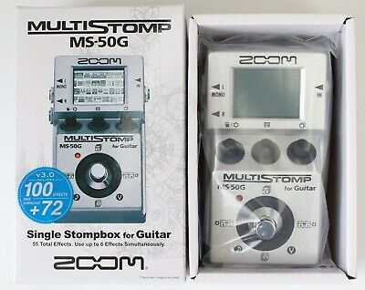 Zoom MS50G Multi-Effects Guitar Effect Pedal
