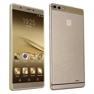 """P9+ Quad-Core Android 5.1 Smartphone 512+128G 6.0"""" Touchcreen 2G 3G Cell Phone"""