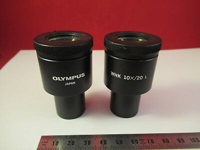 Olympus Japon Oculaire Oculaire Whk 10x/20 Microscope Pièce comme sur Photo #