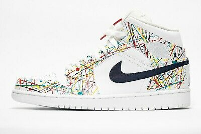 Nike Air Jordan 1 Custom 'Pollock' Edition sizes 7-13 avail. 100% authentic