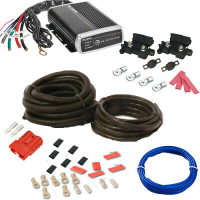 PROJECTA IDC25 DUAL BATTERY SYSTEM DC TO DC CHARGER  + Car Install Kit