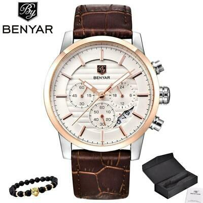 929517d61 BENYAR Wristwatch Men Top Luxury Brand Quartz Sport Wristwatches Mens  Fashion An