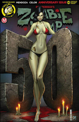 ZOMBIE TRAMP #50 DEBALFO NICE VARIANT Ltd to 250 NM DAN MENDOZA