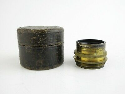 Carl Zeiss, Jena Anastigmat 1:9 f=172mm DRP Messingobjektiv brass lens 13 blades
