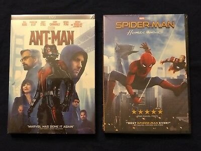 Marvel's: Ant-man & Spiderman Homecoming - 2 DVDs Bundle (Free USPS Shipping)