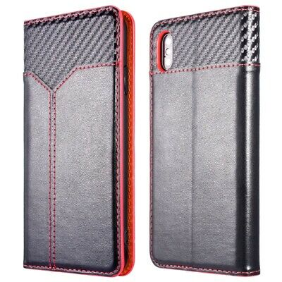 Shockproof Leather Wallet Flip Phone Case Cover For iPhone XS Max 8 Plus 6S 7