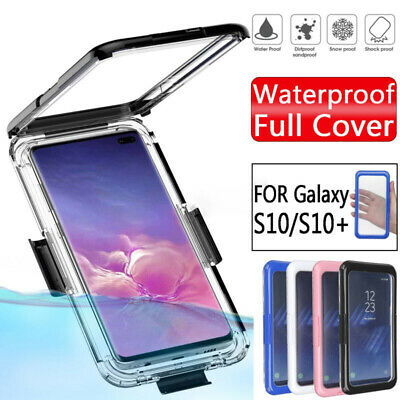 Waterproof Shockproof Hybrid Case Cover For Samsung Galaxy S10 Plus S10e S9 S8