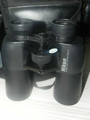 NIKON 10 X 50 6.0  DEGREES sporting II BINOCULARS rare quality item. optics AA