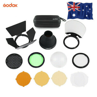 Godox AK-R1 Flash Light Accessories Kit for Godox H200R Round Flash Head AD200