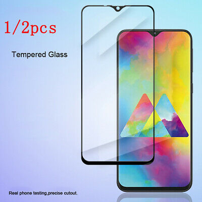 1/2pack 3D Real Tempered Glass Screen Protector Film For Samsung Galaxy M10 M20