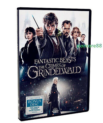 """""""fantastic Beasts: The Crimes Of Grindelwald """" Dvd Free Shipping"""