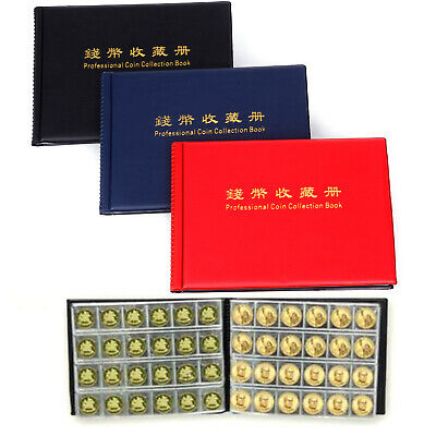240 Coin Collection Holders Storage Money Penny Pocket Album Delicate