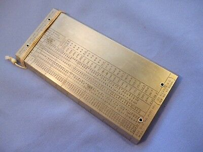 303 Vickers Mg Slide Rule