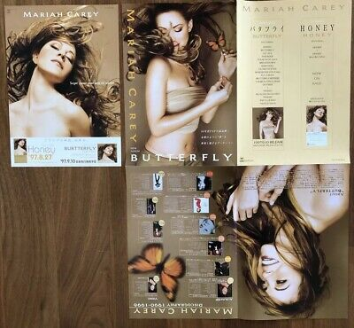 Mariah Carey Honey & Butterfly Asia Promotion Items