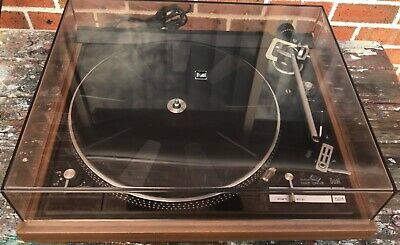 VINTAGE DUAL AUTOMATIC BELT DRIVE TURNTABLE Model CS 521 - CD4 SPEC - MINT!