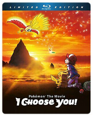 Pokemon The Movie: I Choose You! LImited Edition Blu-ray Steelbook (Blu-ray)