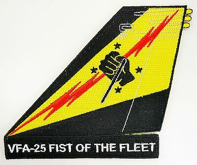 Usn Vfa-25 Fist Of The Fleet Tail Patch