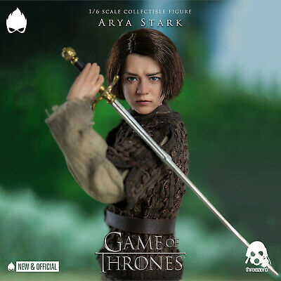 ThreeZero - Arya Stark Game of Thrones 1/6 A/Figure [IN STOCK] •NEW & OFFICIAL•