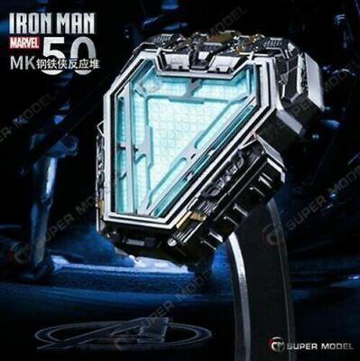 Marvel Licensed Iron Man Arc Reactor MK50 Mark L 1/1 Prop Replica In Stock