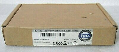 HID 5355 Proximity ProxPro Wall Switch Keypad Reader 5355AGK00 [CTNO]