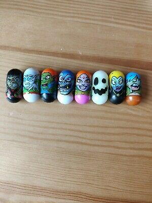 Mighty Beanz bundle of 8  includes Visitor, Ghost, Troll, Zombie, Jupiter, Ninja