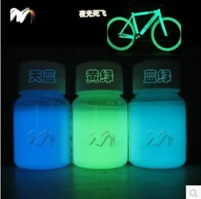 Luminescent Powder Pigment for DIY Decoration Mixed 3 Colors 100 g Glow in Dark