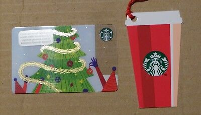 """LOT 2 Starbucks """"CHRISTMAS 2018""""   Cards  New from Argentina"""