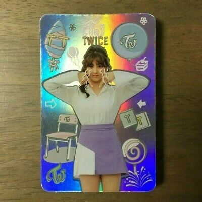 Twice Jihyo 3rd Mini Album TWICEcoaster Lane 1 Hologram Photocard  Official