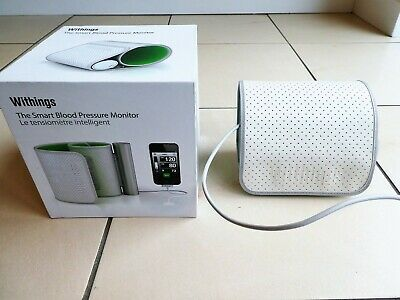 *WITHINGS* Upper Arm Smart BLOOD PRESSURE MONITOR for IPhone IPad IOS EC rrp£140