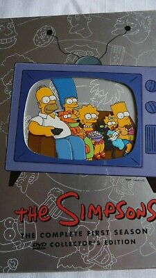 The Simpsons- The Complete First Season/3 Disc Collectoors Edition Box Set