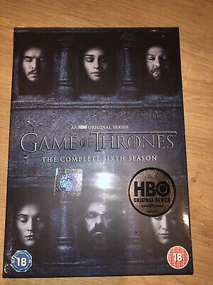 game of thrones Complete sixth Season dvd
