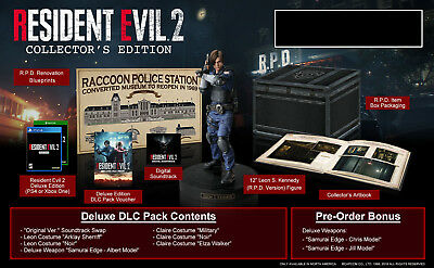 Resident Evil 2 Remake Collector's Edition (Xbox One) - BRAND NEW