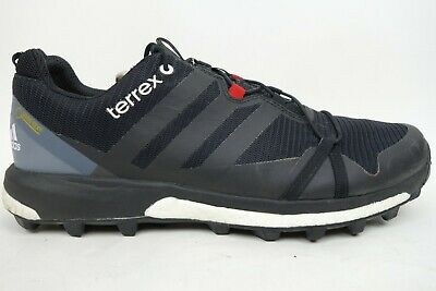 check out 5a8f4 442ee Adidas Terrex Agravic GTX Gore-Tex Boost Trail Running Shoes Men Size 12