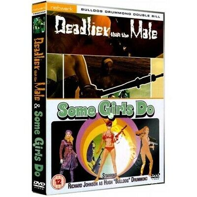 Some Girls Do / Deadlier Than the Male NEW PAL Cult DVD