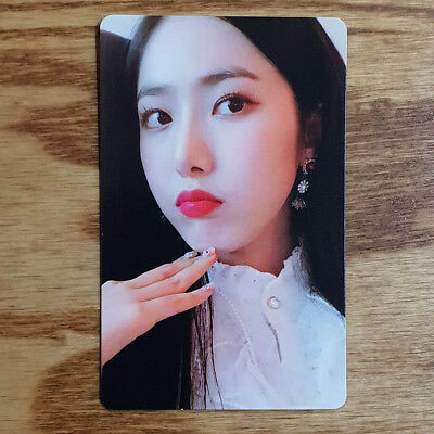SinB Official Photocard GFriend Time For Us 2nd Album Limited Edition Genuine