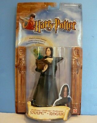 HARRY POTTER & The Sorcerers Stone PROFESSOR SNAPE Wizard Action Figure (2001)