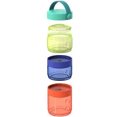 Skip Hop Grab & Go Formula-to-Food Container Set, New in Packaging