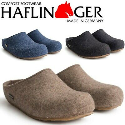 Haflinger Grizzly Michl Wool Felt Clogs - All Colors And Sizes