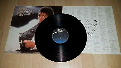 LP / Michael Jackson ‎– Thriller / 82 EU FOC in NM / POP DISCO