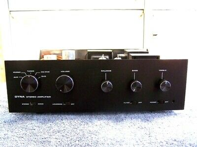 Custom Anodized Black Faceplates For Dynaco Sca Stereo Tube Amplifier