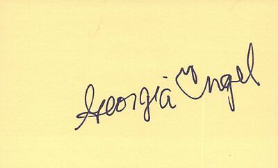 Leonard Frey Actor 1976 Uja Telethon Tv Movie Autographed Signed Index Card Movies