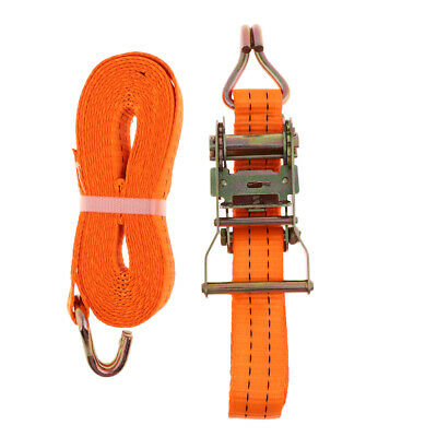Ratchet Tie Down Cargo Straps Package Webbing Hold Ratchet Belt Straps 6m