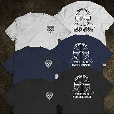 NEW Detroit Police Sniper Team Incident Response Military Special Force T-Shirt