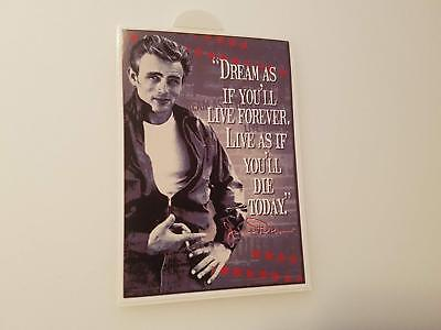 #273 James Dean Dream. 7x10 cm!  AUFKLEBER AUTOCOLLANT STICKER ADHESIVE