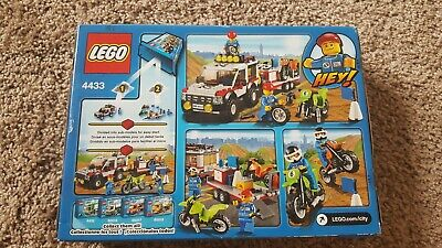 NEW RARE DISCONTINUED LEGO City Town Dirt Bike Transporter 4433 toy