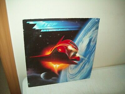 ZZ Top Afterburner Vinyl Record Album original 1985 WB NM