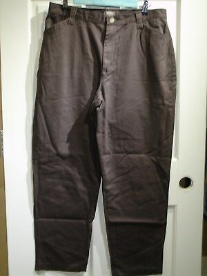 Riders Casuals Women's Size 14P (33x28.5) Brown Casual/Khaki Pants 139-12060